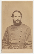 WAIST UP CDV OF CONFEDERATE GENERAL JAMES DRESHLER KILLED AT CHICKAMAUGA