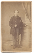 FULL STANDING CDV OF 51ST PENNSYLVANIA ASSISTANT SURGEON WHO ALSO HAD NAVY SERVICE