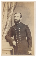 THREE-QUARTER STANDING VIEW OF UNION NAVY OFFICER