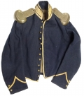 UNION CAVALRY SHELL JACKET WITH SHOULDER SCALES