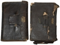 PAIR OF DIARIES IDENTIFIED TO 15TH CONNECTICUT SOLDIER