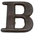 "BRASS COMPANY LETTER ""B"" RECOVERED IN VIRGINIA"