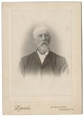 CABINET CARD PHOTOGRAPH OF HENRY THOMPSON HOLLADAY OF CULPEPER COUNTY, VA