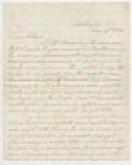 AUGUST 1861 CIVIL WAR LETTER FROM LEBANON, PA RESIDENT JACOB FORNEY KREPS TO HIS WIFE