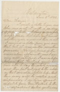 JUNE 1862 CIVIL WAR LETTER FROM LEBANON, PA RESIDENT JACOB FORNEY KREPS TO HIS WIFE