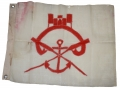 PONTONIERS ARMY CORPS FLAG FOR G.A.R. HALL OR ENCAMPMENT USE