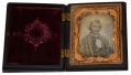 NINTH PLATE DAGUERREOTYPE OF CIVILIAN IN UNION CASE