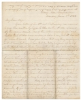 JUNE 1863 CIVIL WAR LETTER FROM LEBANON, PA RESIDENT JACOB FORNEY KREPS DURING PENNSYLVANIA REGIMENTAL COMMISSION VISIT TO ROSECRANS' ARMY IN MURPHREESBORO, WITH MENTIONS OF SOLDIER SONS (77TH PA, 15TH PA CAVALRY)