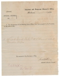 CONFEDERATE SPECIAL ORDER RELATING TO 2ND SOUTH CAROLINA RIFLES