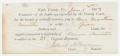 DOCUMENT FOR PAY TO FAMILY OF 51ST VIRGINIA SOLDIER'S FAMILY