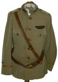 WORLD WAR ONE FLIGHT INSTRUCTOR'S TUNIC WITH WINGS, CAMPAIGN HAT & MORE