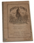 CIVIL WAR PERIOD CHRISTIAN COMMISSION ARMY NAVY HYMN BOOK