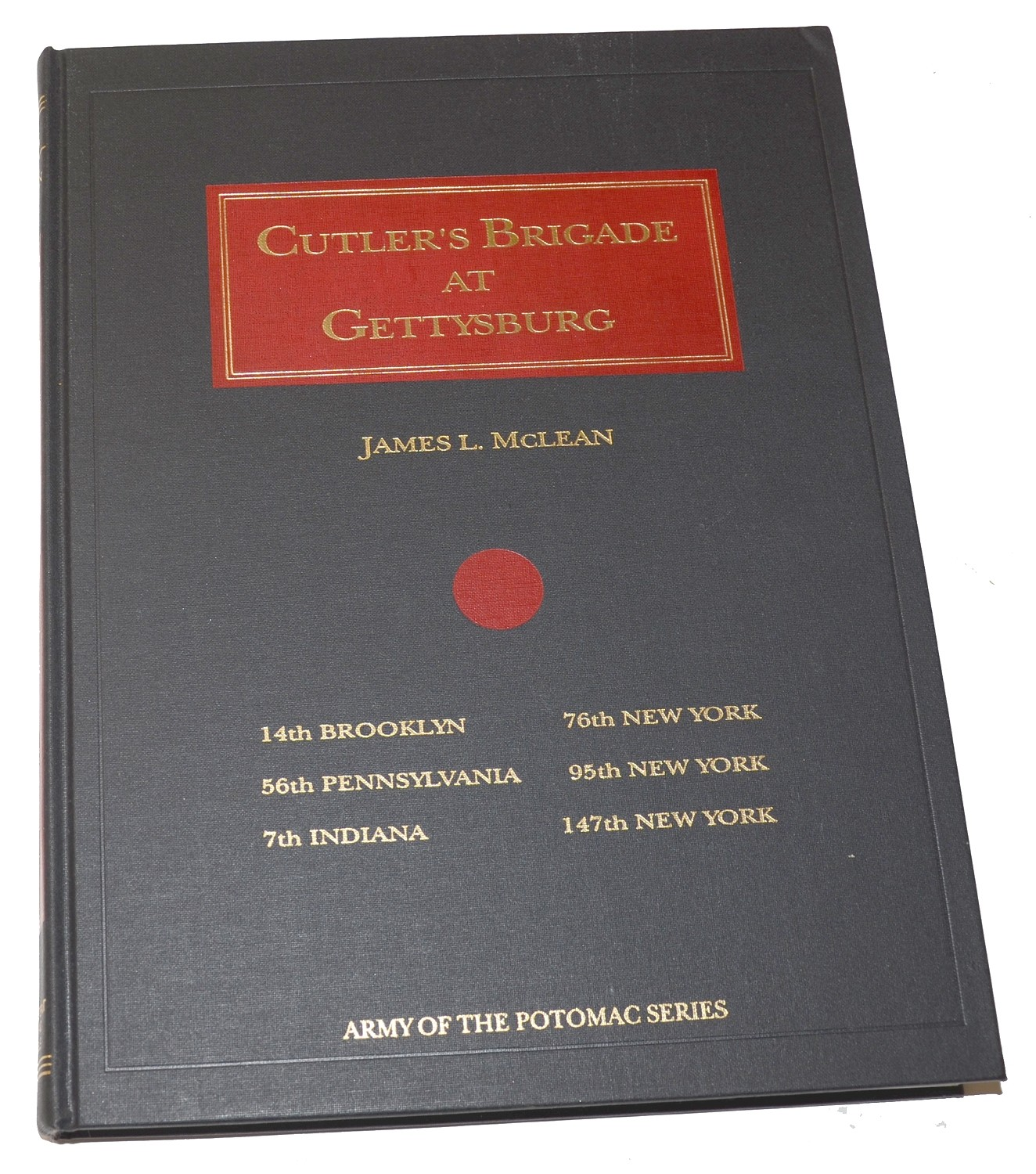 "1994 COPY OF ""CUTLER'S BRIGADE AT GETTYSBURG"""