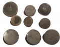 LOT OF COLONIAL ERA PEWTER BUTTONS