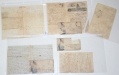 GROUP OF FIVE CIVIL WAR LETTERS WRITTEN BY LYMAN W. HAMLIN, 32ND PENNSYLVANIA INFANTRY REGIMENT (3RD PA RESERVES)