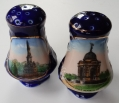 PENNSYLVANIA MEMORIAL & SOLDIER'S NATIONAL MONUMENT SOUVENIR SALT & PEPPER SHAKERS