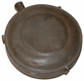 CONFEDERATE/MILITIA TIN DRUM CANTEEN