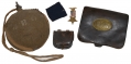 IDENTIFIED GROUPING OF ARTIFACTS BELONGING TO PRIVATE JABEZ B. OLES 144th NY INFANTRY AND 1st NY ENGINEERS