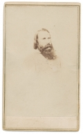 CDV BUST VIEW OF CONFEDERATE GENERAL JAMES LONGSTREET