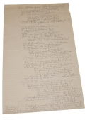 1867 DATED AND SIGNED MANUSCRIPT WRITTEN BY PVT. JAMES M. DALZELL ABOUT HIS CIVIL WAR EXPERIENCES – 116TH OHIO VOLUNTEERS