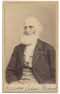WAIST-UP CDV OF WILLIAM CULLEN BRYANT