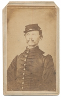 ID'D IMAGE OF 115TH NEW YORK OFFICER WHO ALSO SERVED WITH THE 7TH NEW YORK CAVALRY