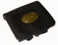 US CARTRIDGE BOX ID'D TO MEDAL OF HONOR RECIPIENT JOHN M. DEANE OF THE 3RD & 29TH MASSACHSUETTS INFANTRY