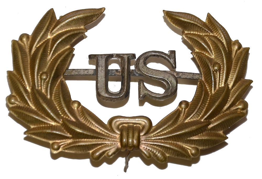 INDIAN WAR PERIOD HOSPITAL STEWARD HAT INSIGNIA