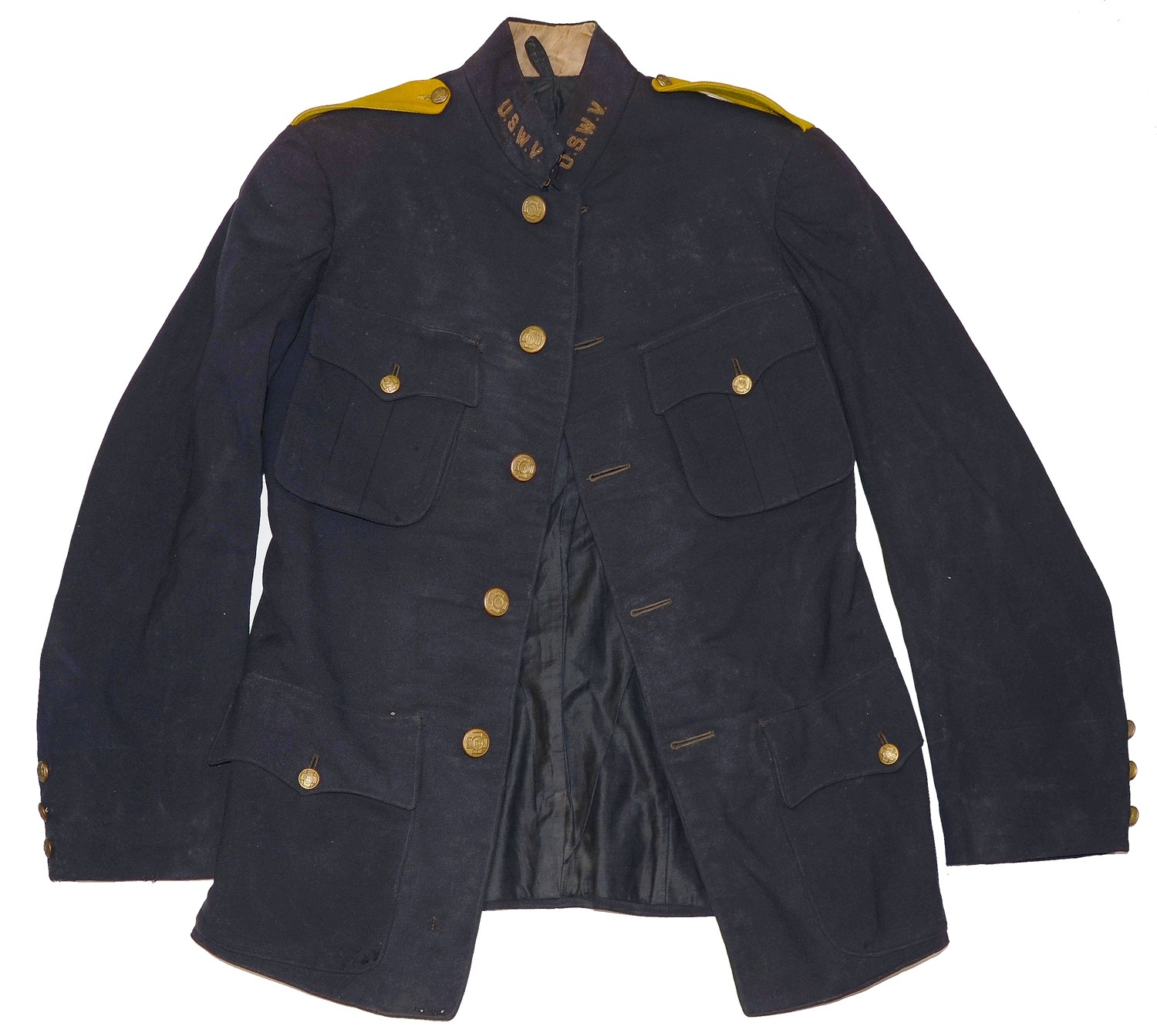 SPANISH AMERICAN WAR VETERANS UNIFORM