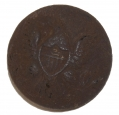 US GENERAL SERVICE EAGLE JACKET BUTTON RECOVERED ON SEMINARY RIDGE
