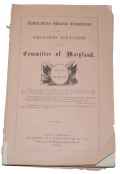 BATTLE OF GETTYSBURG / UNITED STATES CHRISTIAN COMMISSION / SECOND REPORT OF THE COMMITTEE OF MARYLAND