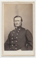 WAIST UP CDV OF A WESTERN THEATER FIELD GRADE OFFICER