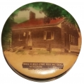 JENNIE WADE HOUSE  / LITTLE ROUND TOP SOUVENIR FACE POWDER COMPACT