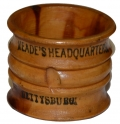 MEADE'S HEADQUARTERS / GETTYSBURG SOUVENIR NAPKIN RING