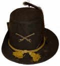 CIVIL WAR ENLISTED CAVALRY HARDEE HAT