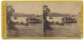 STEREO CARD VIEW OF MONITORS AND TRANSPORTS ON THE JAMES RIVER