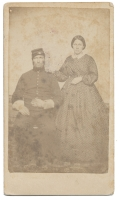 CANTON, NEW YORK SOLDIER & WIFE