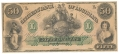 THE CITIZENS BANK OF LOUISIANA $50.00 NOTE