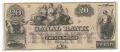 CANAL BANK NEW ORLEANS $20.00 NOTE