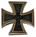 WORLD WAR TWO GERMAN IRON CROSS FIRST CLASS