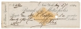 BANK CHECK SIGNED BY TWO UNION GENERALS – DANIEL E. SICKLES & JOHN P. HAWKINS