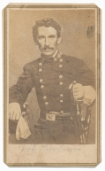"NICE WARTIME IMAGE OF M. JEFF THOMPSON IN CONFEDERATE UNIFORM – ""SWAMP FOX OF THE CONFEDERACY"""