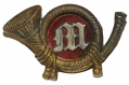 USMC 1859 PATTERN FATIGUE CAP INSIGNIA