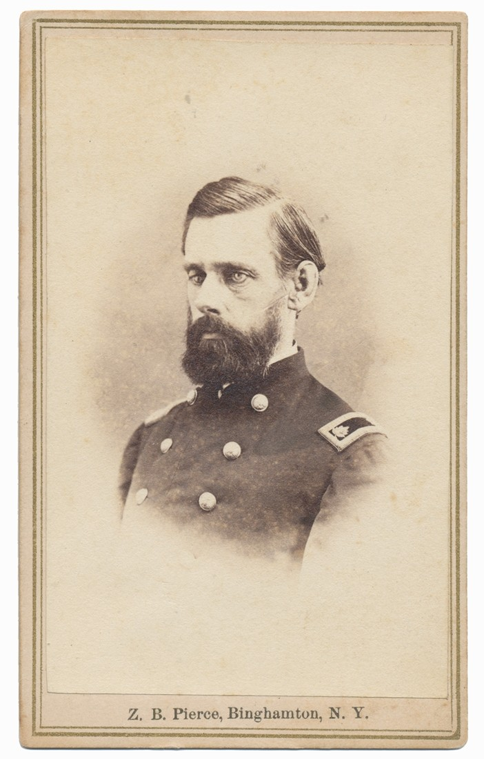 CDV OF 101ST US COLORED TROOPS SURGEON, DR. EDWARD I. FORD