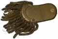 CIRCA 1820'S SINGLE GOLD BULLION EPAULETTE