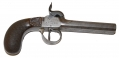 CIVIL WAR ERA PERCUSSION DOUBLE BARREL PISTOL