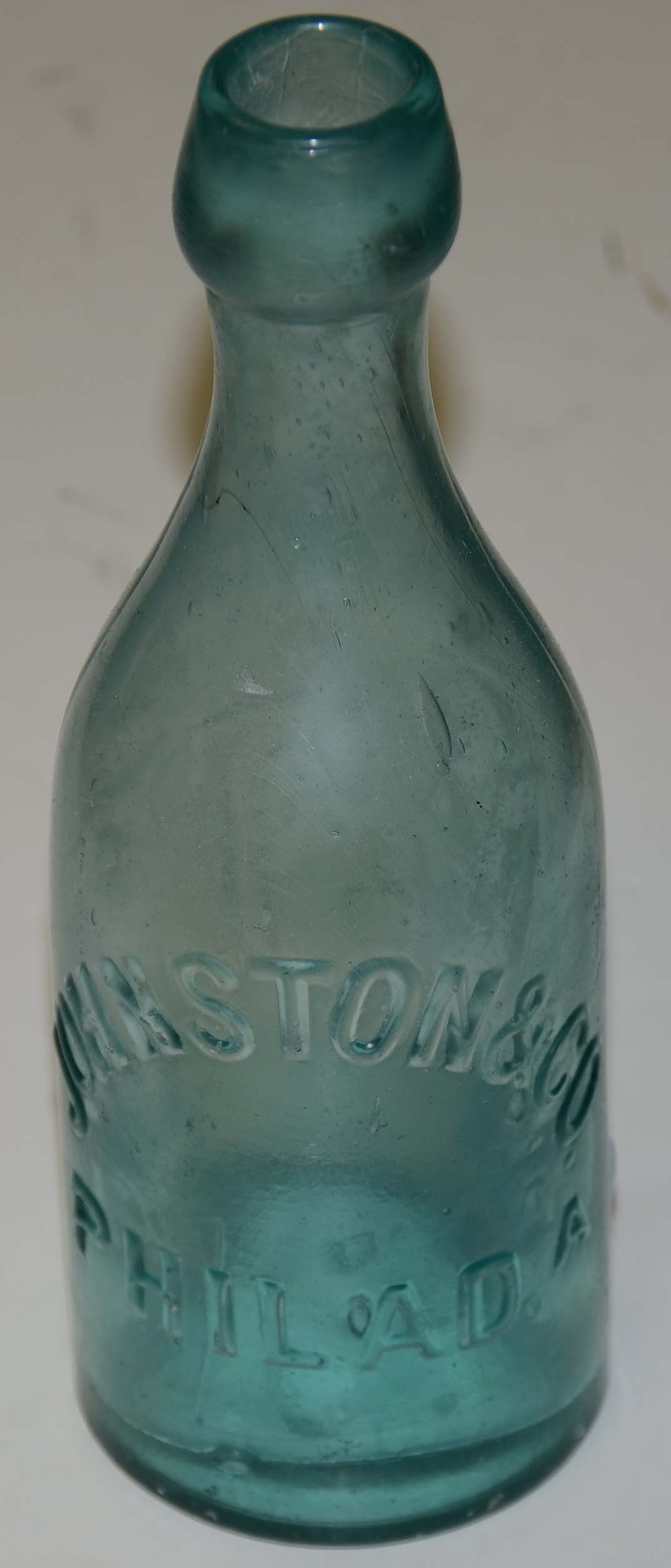 JOHNSON & CO. SODA BOTTLE