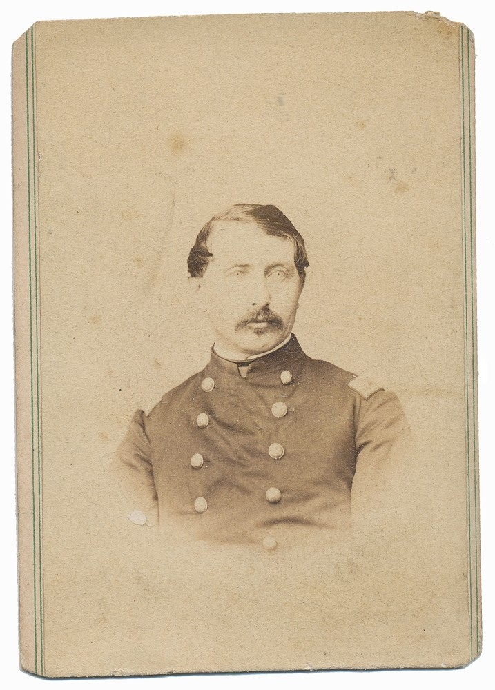 SIGNED CDV OF SURGEON WHO SERVED IN TWO PENNSYLVANIA REGIMENTS – JAMES A. ANAWALT
