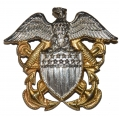 US WORLD WAR TWO NAVY OFFICER'S INSIGNIA