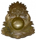 SAPPERS SHAKO PLATE FROM THE 2ND FRENCH EMPIRE – ITEM FROM THE COLLECTION OF THE LATE ARTIST, RON TUNISON